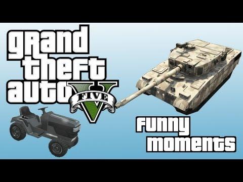 GTA 5 Online Funny Moments - ChasingCatz,...