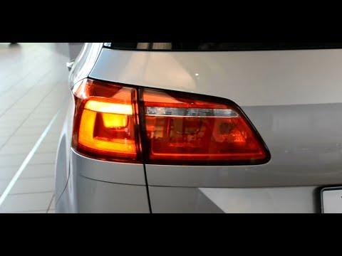 2014 Original VW Golf Sportsvan LED Rear light tail lights Rückleuchten Rücklicht Heckleuchte ...