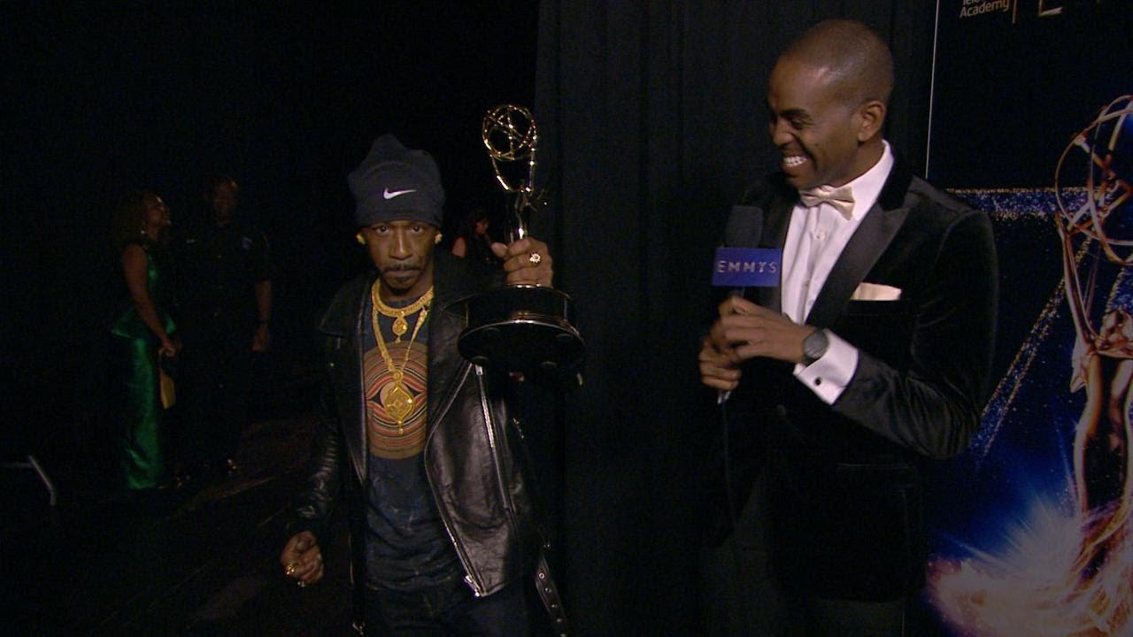 Black at the  Emmy Awards:  with Katt Williams