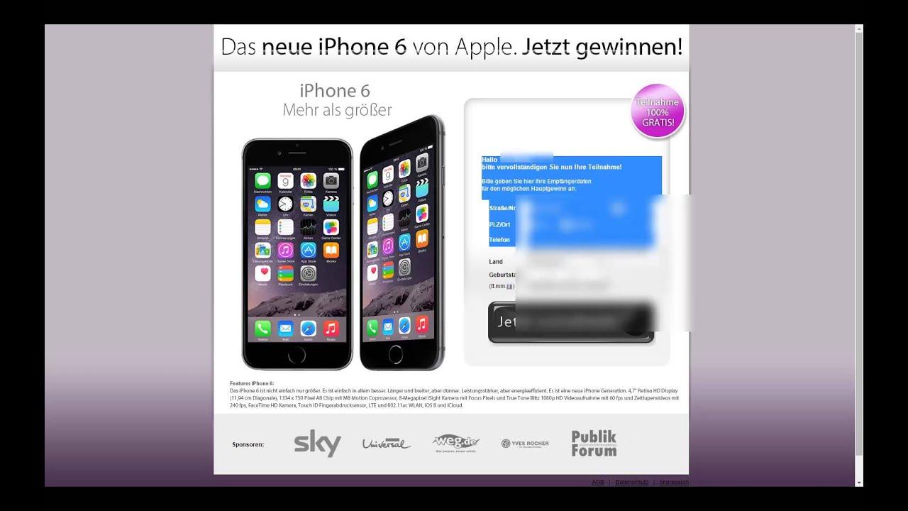 Kabel deutschland gewinnspiel iphone 6