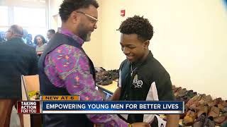 News suits given to at-risk teens through 'Suit Up & Show Up'  empowers them to succeed
