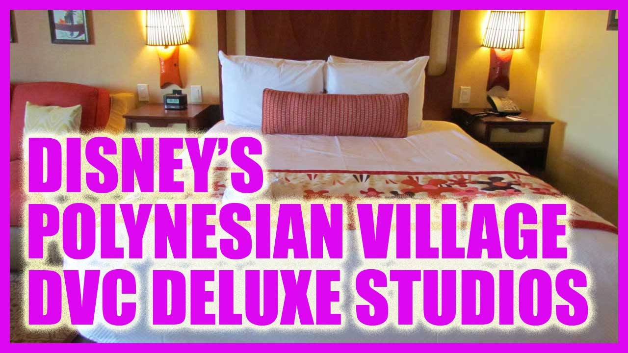 Deluxe Studio Tour Polynesian Village Villas Amp Bungalows
