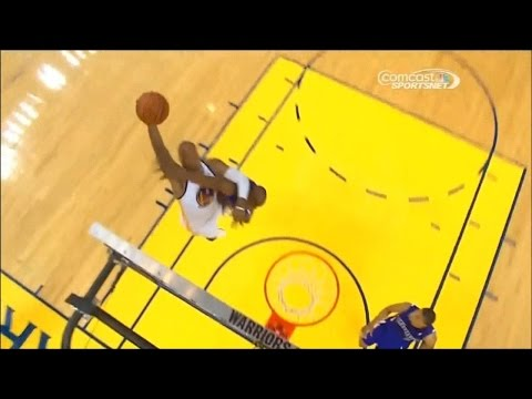 Marreese Speights Dunks On Travis Outlaw
