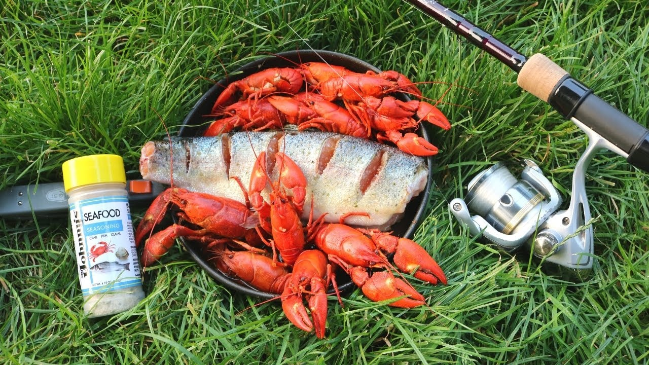 Day on the River - Catch n' Cook Crawfish & Trout!