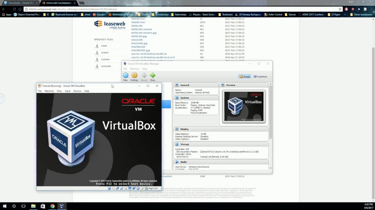 Creating a Linux Virtual Machine with VirtualBox