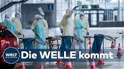 CORONA-PANDEMIE: Zahl der Covid-19-Todesfälle steigt nun auch in Deutschland drastisch