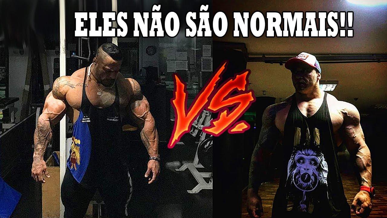 ATÉ O GIGA SE IMPRESSIONOU COM O SHAPE DELE!! 😱 - BRUNO MORAES VS GIGA