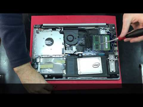 Dell Inspiron 15 Series 5000 5570 How To Upgrade RAM SSD M.2 Disassembly