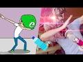 EL RETO DE LA BOTELLA DE FERNANFLOO | Youtubers Saw Game