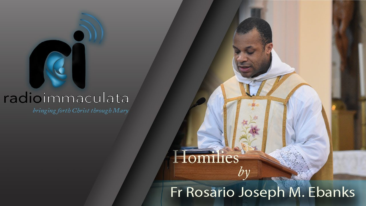 Do not be discouraged - Homily by Fr. Rosario M. Ebanks 24/10/2021