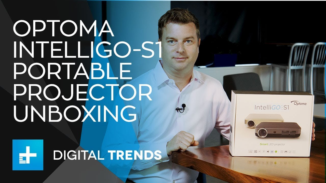 Optoma IntelliGO-S1 Portable Projector – Unboxing