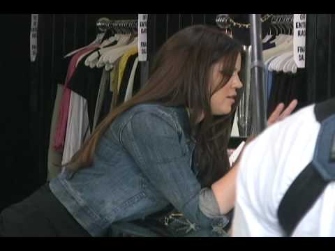 Khloe Kardashian At  Dash Store 0001 DVD - 101409 - PapaBrazzi Report