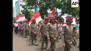 INDONESIA: GOVERNMENT STEP UP MILITARY PRESENCE ACROSS COUNTRY