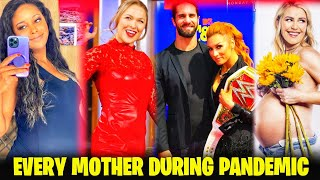 Every Pregnant Female Wrestler In PANDEMIC ft Ronda Rowsey Becky Lynch etc
