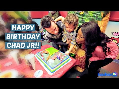 CHAD'S 3RD BIRTHDAY PARTY!!