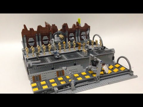 Lego star wars droid factory on geonosis youtube - Lego star wars vaisseau droide ...
