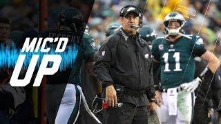 Doug Pederson Mic'd Up Overcoming Slow Start vs. 49ers | NFL Films | Sound FX
