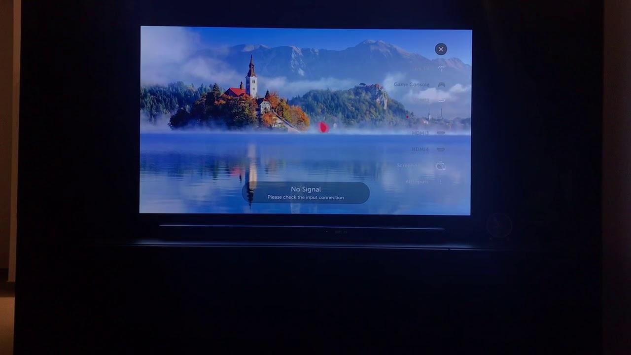 AppleTV 4K connected to an LG SJ9 soundbar (connection problem)
