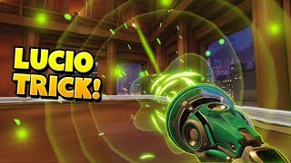 This Lucio Trick Works EVERY Time!! - Overwatch Funny Moments & Best Plays 29