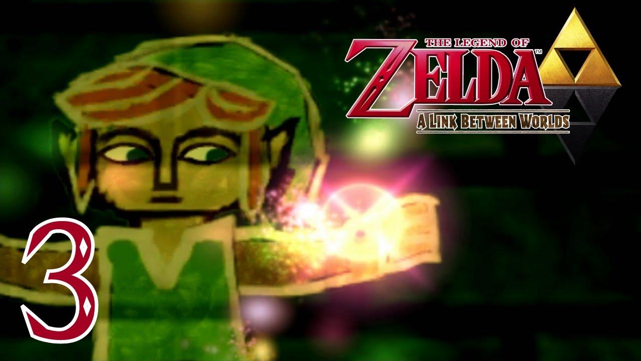 Zelda a link between worlds je marche dans le mur - Link dans zelda ...