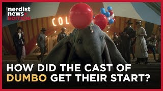 DUMBO's Stars Explain Their First Paid Acting Gigs (Nerdist News Edition)