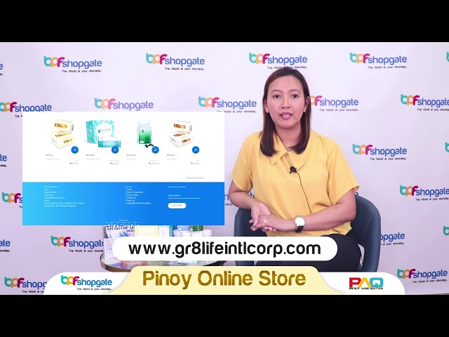 Pinoy Online Seller - GR8LIFE INTL CORP.