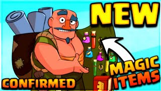 NEW MAGIC ITEMS COMING THIS APRIL 2018 CONFIRMED UPDATE CLASH OF CLANS•FUTURE T18