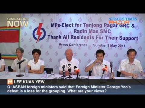MM Lee's comments on GE2011
