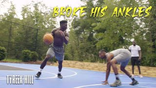 BROKE HIS ANKLES AT JULY 4TH COOKOUT | PT. 2 | Tyreek Hill