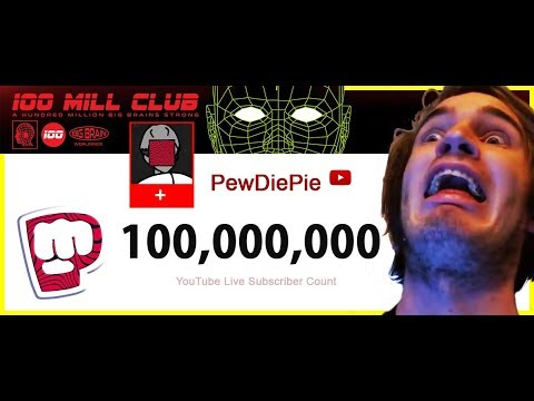 PewDiePie first individual YouTube creator to reach 100 million subscribers