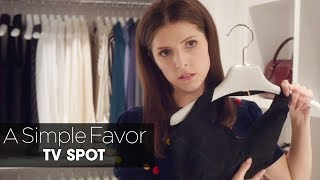 """A Simple Favor (2018 Movie) Official TV Spot """"Truth"""" – Anna Kendrick, Blake Lively, Henry Golding"""