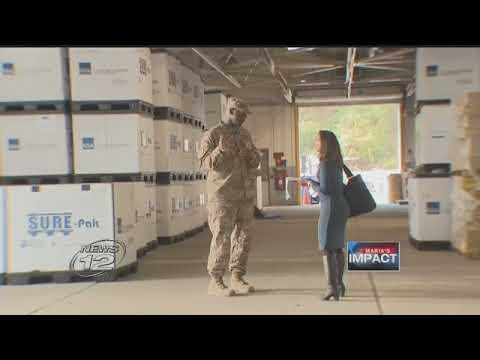 NY National Guard Hurricane Relief Logistics
