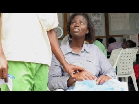 Inside Liberia's Ebola clinics