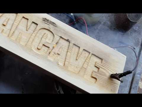 Router Projects - Make a Mancave sign for your .... Mancave ....