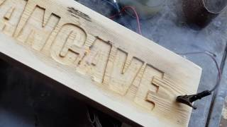 Easy woodworking router project for your Mancave using your router to make a cool sign and carve out letters. Can be any text i