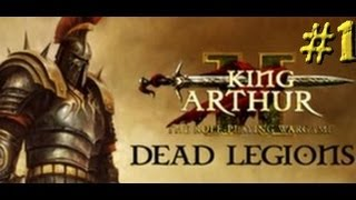 king Arthur II: Dead Legions gameplay