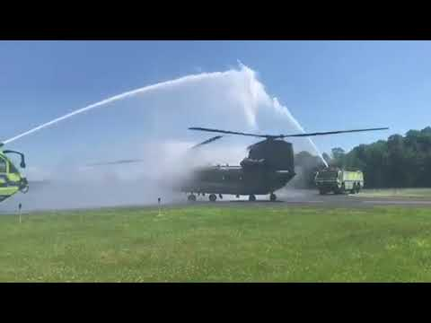 Airfield Water Salute