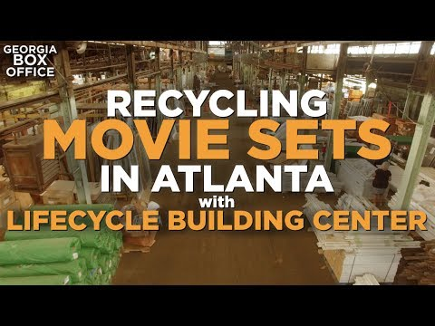 Recycling Movie Sets with Lifecycle Building Center