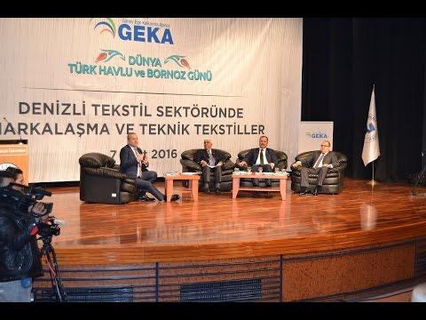 bloomberght ç2ş yoludenizli tekstil sektöründe markalaşmaampteknik tekstiller konferansı