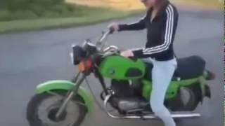 Smieszne filmy na motorach #1