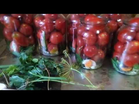 Как посолить помидоры в банки на зиму
