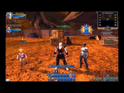Champions Online: SuperHero team Up - The Serpent Lantern part 2