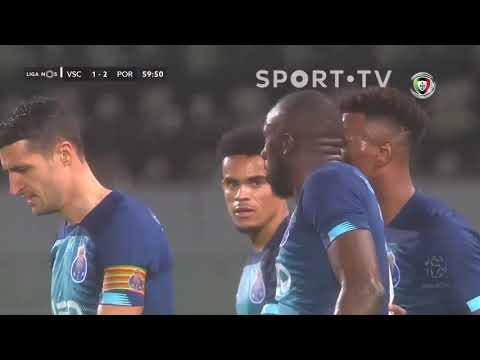 Goal | Golo Marega: Vitória SC 1-(2) FC Porto (Liga 19/20 #21)