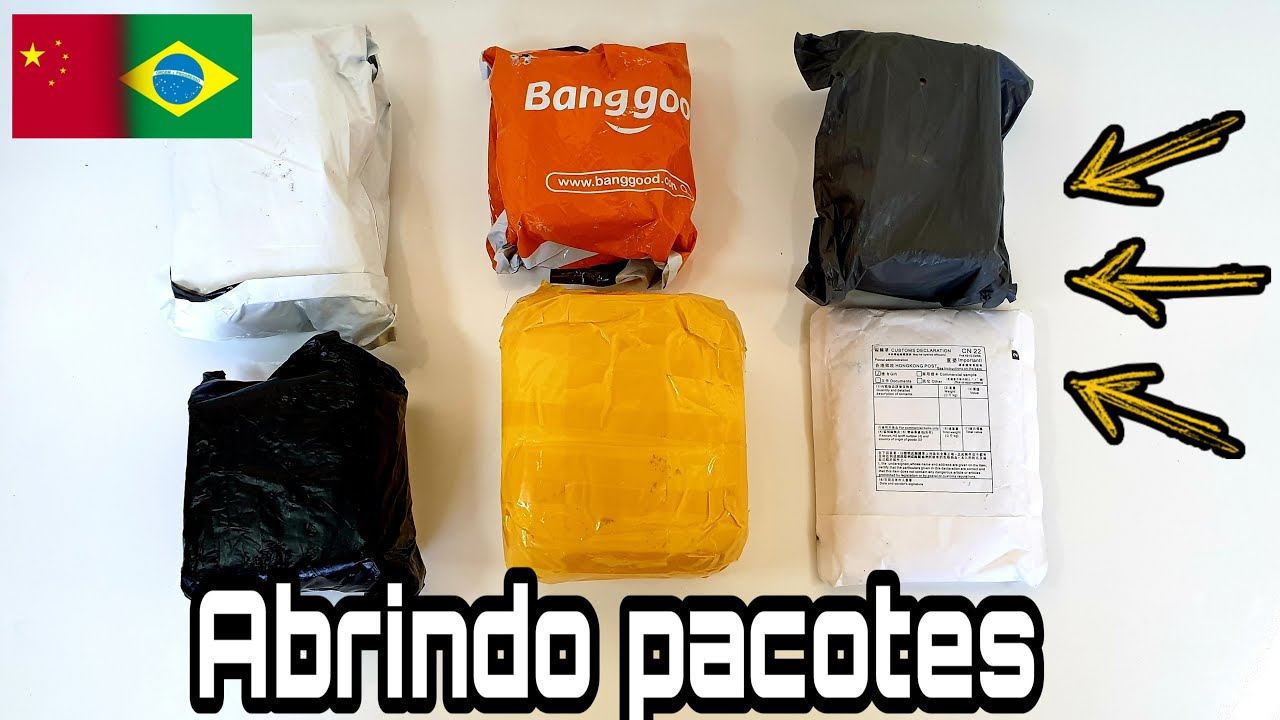 Unboxing da CHINA | COMPREI vários produtos da BANGGOOD E ALIEXPRESS!