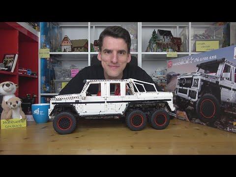 Ein mächtiges Spielzeug! Mould King® Models 103782 G700 6x6 by Zerobricks