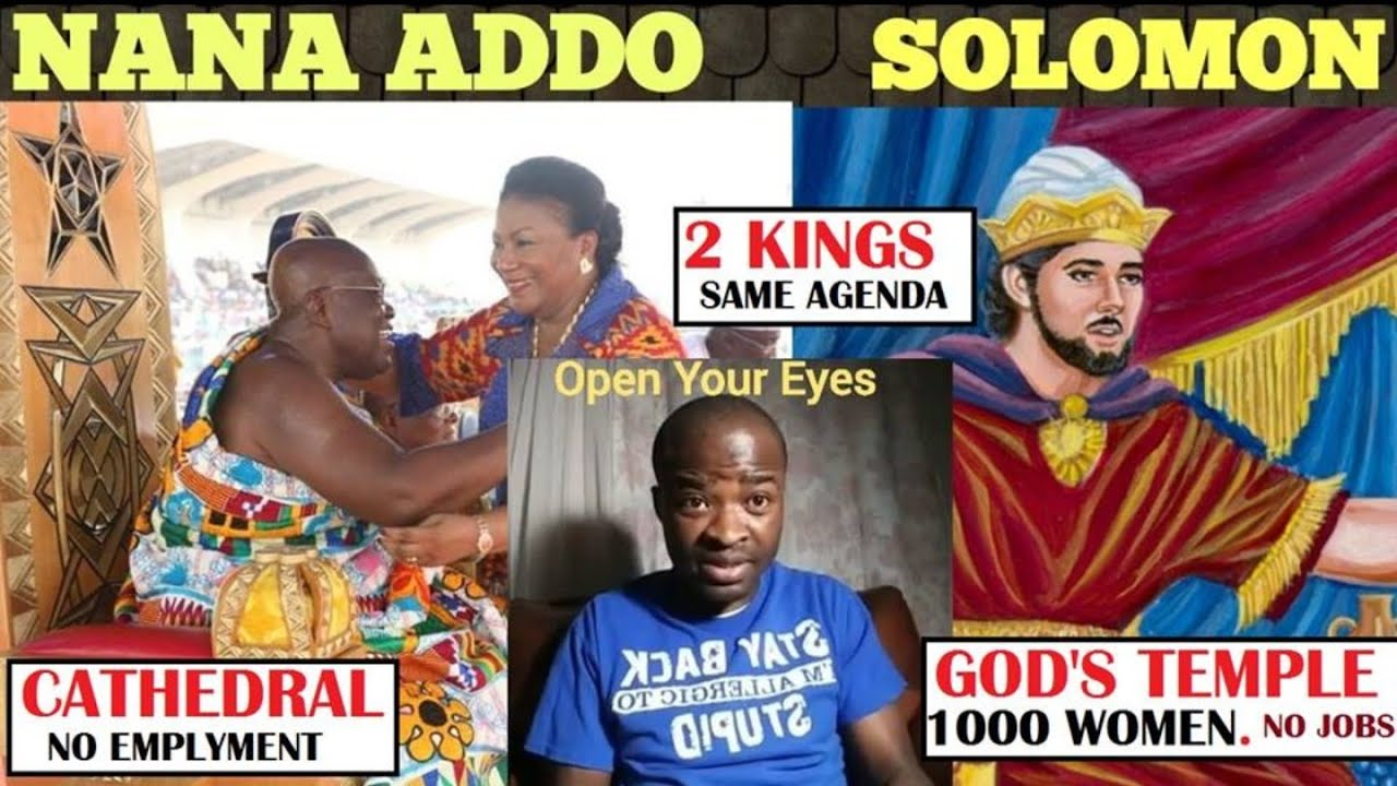 REASON Why NANA AKUFFO ADDO WANNA BUILD CATHEDRAL £XPOSED. King Solomon - Evangelist Addai