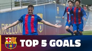 fcb-masia-academy-top-goals-11-12-march