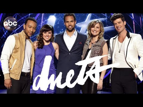 Download Kelly Clarkson on ABC Duets 2012