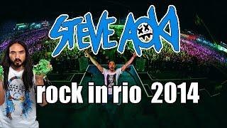 Steve aoki @ rock in rio 2014
