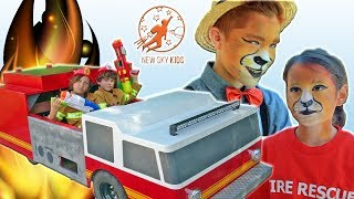 Little Heroes: Rescue Squad 10 - Tantrum, The Mayor and The Fire Engine
